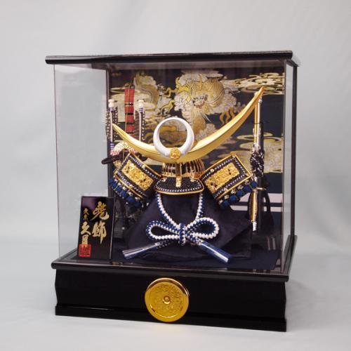 久月兜(アクリルケース飾り)