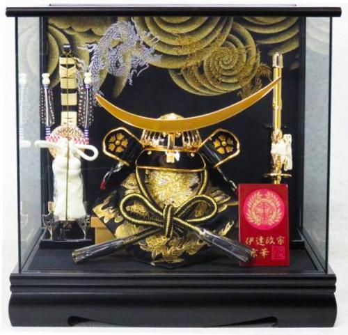 8号 伊達政宗兜(パノラマケース飾り)